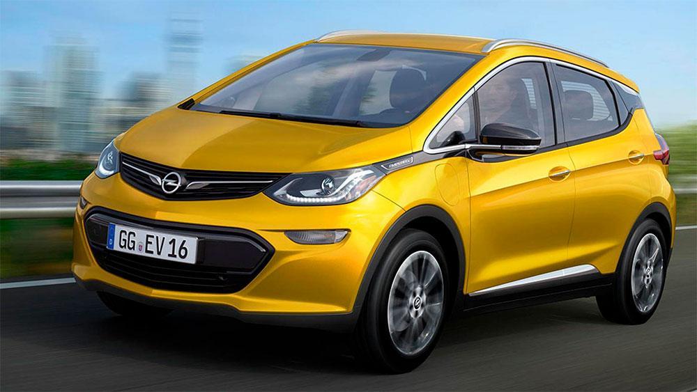 Imagen del Opel Ampera E , coche eléctrico de Opel