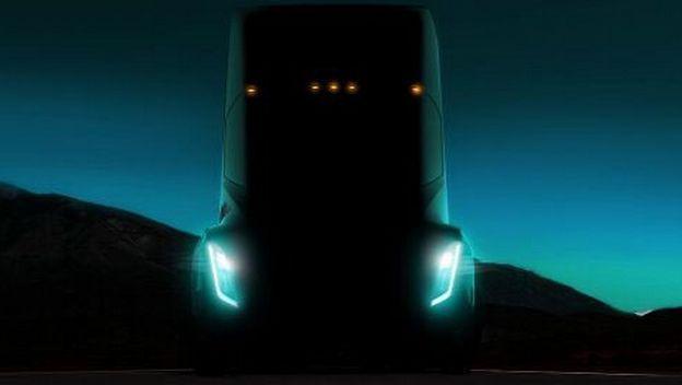 Camión Eléctrico y autónomo de Tesla