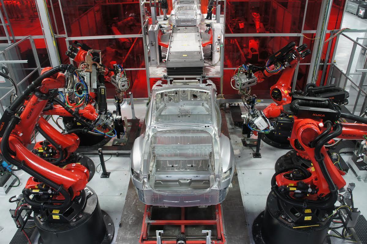 Tesla-fabrica