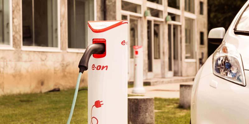 Cargadores de coches eléctricos de E.ON