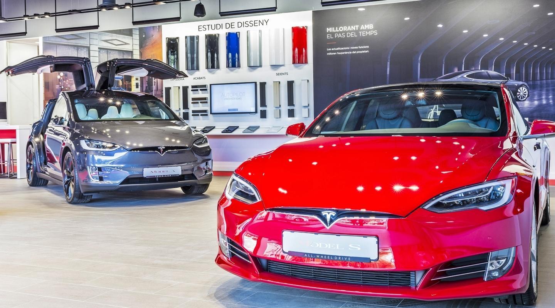 Concesionario Tesla Madrid