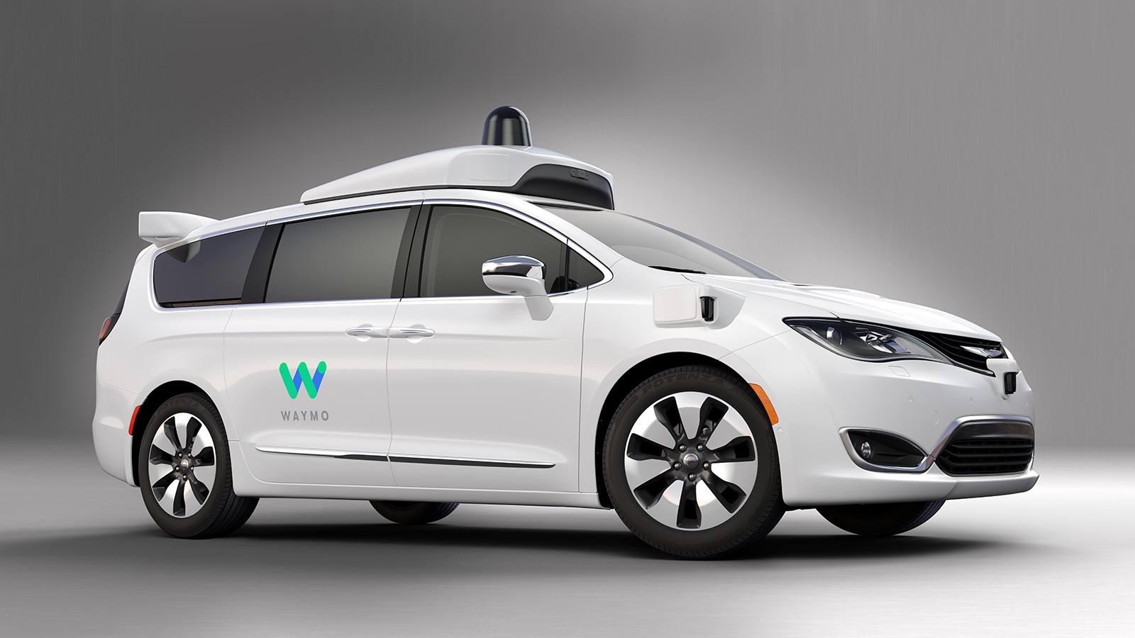 Waymo de Google en pruebas con coches de Chrysler