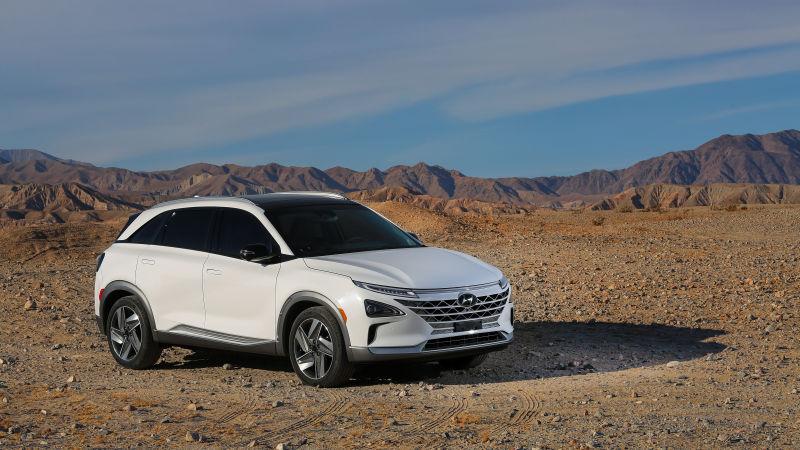 Imagen del coche eléctrico Hyundai Nexo