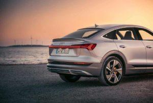 Trasera del Audi e-Tron Sportback
