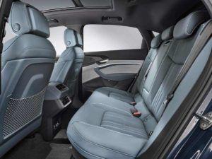 Interior plazas traseras del Audi e-Tron Sportback