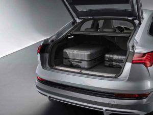 Maletero del Audi e-Tron Sportback