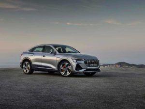 Audi e-Tron Sportback en gris