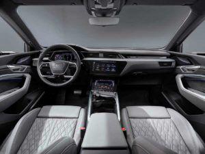 Interior del Audi e-Tron Sportback