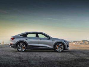 Lateral del Audi e-Tron Sportback