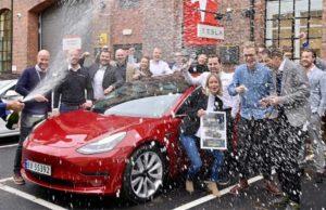 Premio al Tesla Model 3 en Noruega - Mejor coche del año