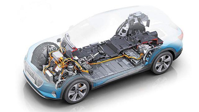 batería del Audi e-Tron
