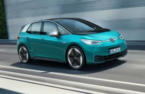 foto del coche eléctrico Volkswagen ID.3