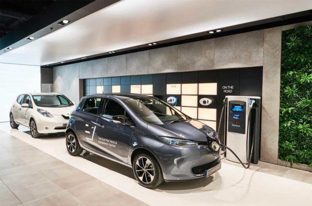 Concesionario de coches eléctricos