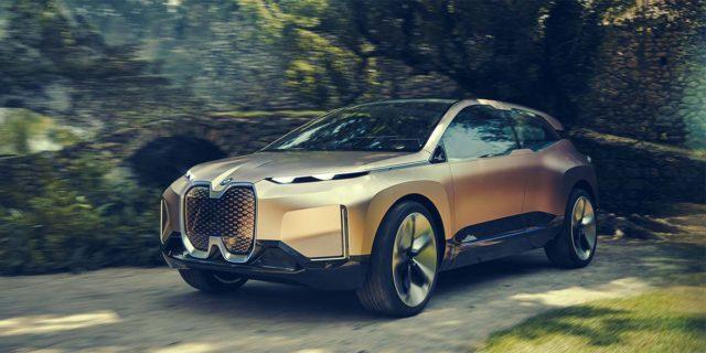 Foto del concept BMW iNext