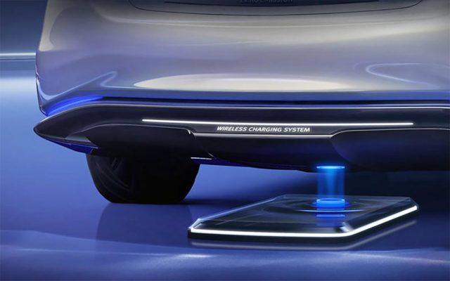 Carga inalámbrica para vehículos eléctricos.