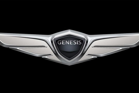Logo de Genesis, marca premium de Hyundai