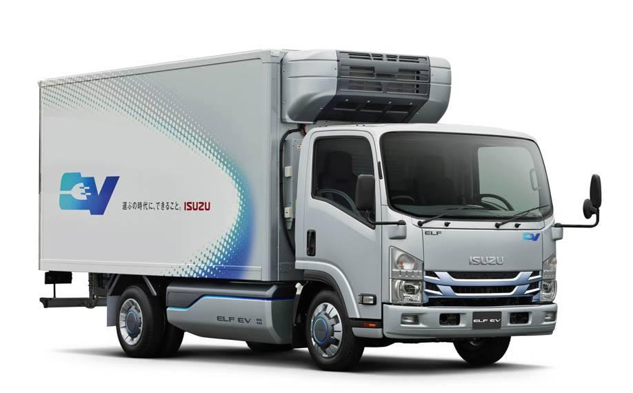 Isuzu-electric-truck