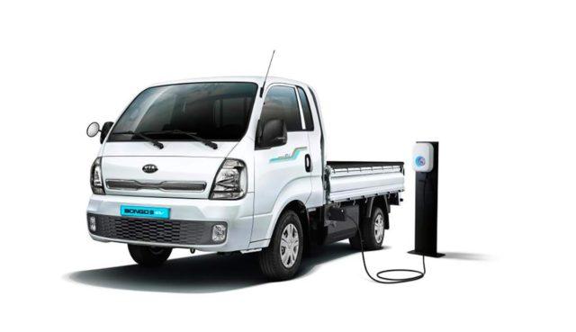 KIA Bongo 3 EV, foto de la camioneta eléctrica de KIA