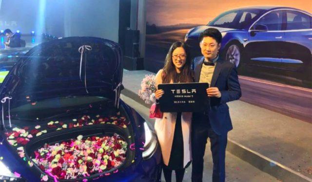 Primeras entregas del Tesla Model 3 en China