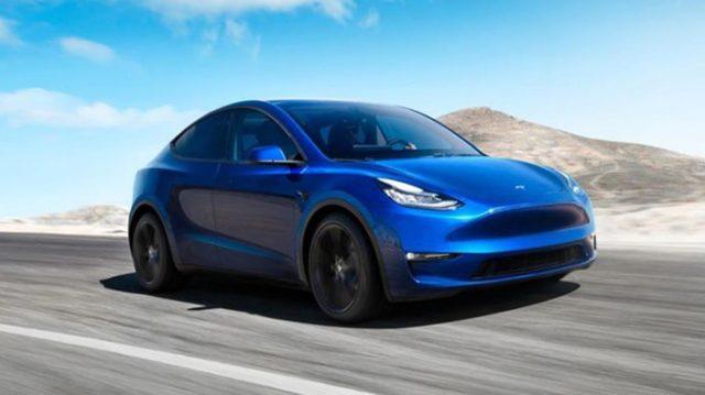 Foto del Tesla Model Y