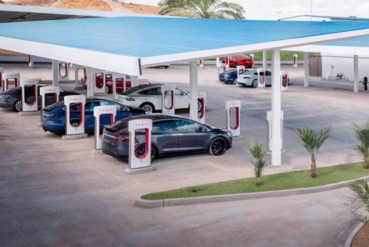 Tesla actualiza el Model S y Model X para cargar a 250 kW de potencia