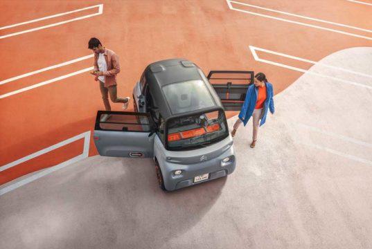 Citroën Ami, asi es el pequeño coche eléctrico de 6.900 euros