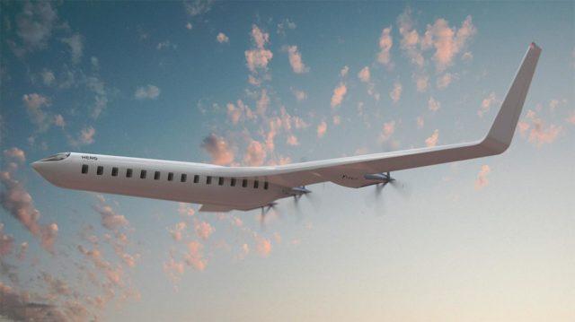 Avión eléctrico sostenible