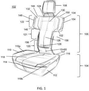 patente-Rivian-asientos-armas_2