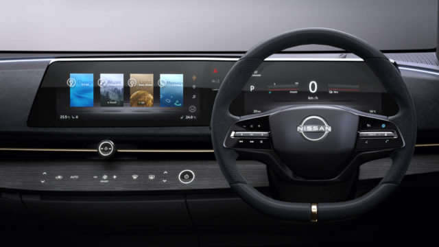 Interior-pantallas-Nissan-Ariya-concept-electrico