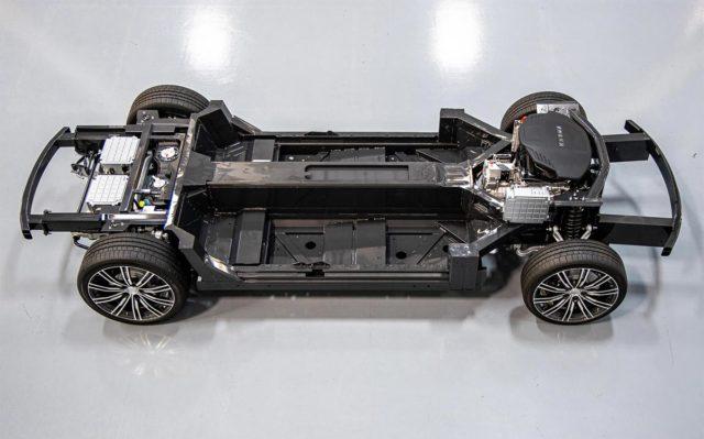 Plataforma E-Flex para fabricar coches eléctricos