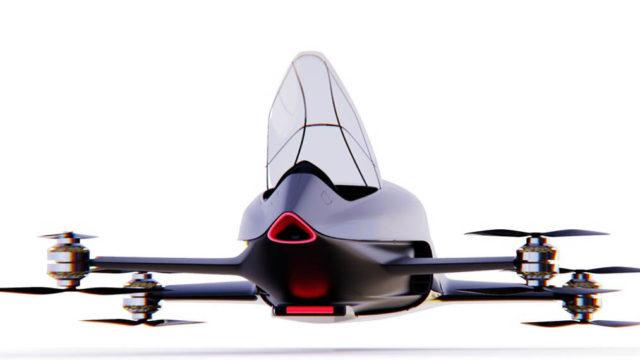 coche-electrico-volador-Airspeeder-MK4