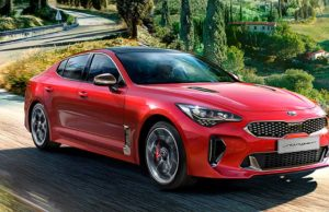 Foto del actual KIA Stinger