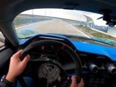 pilotando Hiper-deportivo eléctrico Rimac C-Two