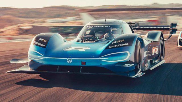 Foto del Volkswagen ID.R de alto rendimiento