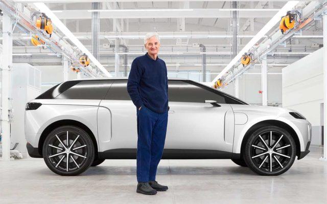 Foto del coche eléctrico que Dyson estaba desarrollando