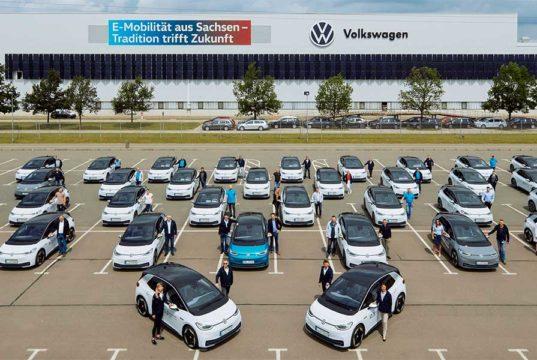 150 empleados de Volkswagen ya prueban el VW ID.3