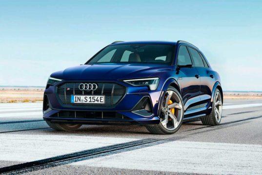La variante S llega al Audi e-Tron y Sportback, más potencia eléctrica