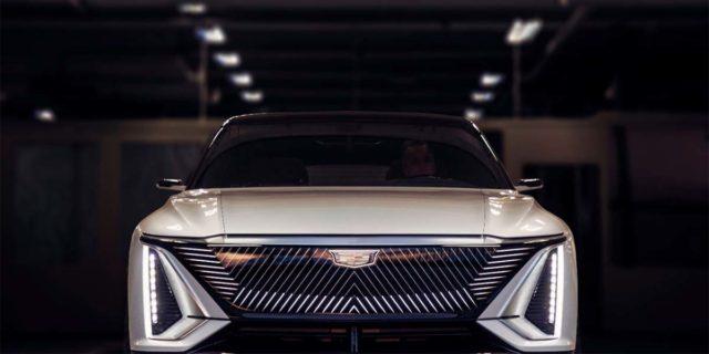 Cadillac-LYRIQ-frontal