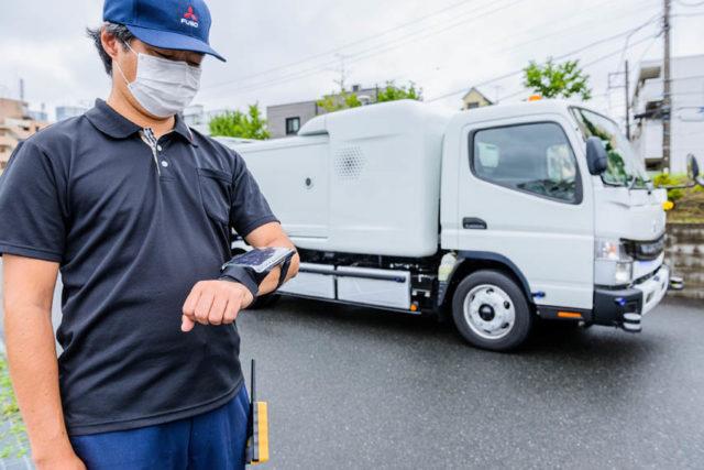 Fuso-eCanter-camion-basura-seguimiento
