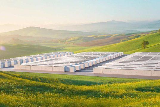 Así es el proyecto de Megapacks de baterías de Tesla