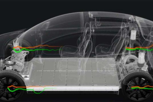 Tesla implementa la visualización de la suspensión adaptativa en el Model S y Model X