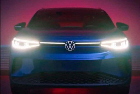 Volkswagen decide mostrar el frontal del VW ID.4 antes de su presentación oficial