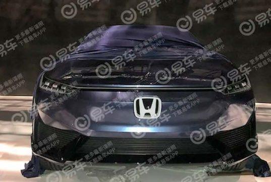 Se filtra el frontal del nuevo Honda eléctrico antes de su presentación