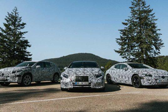 El Mercedes-Benz EQS se lanzará en 2021 y le acompañarán 6 modelos más