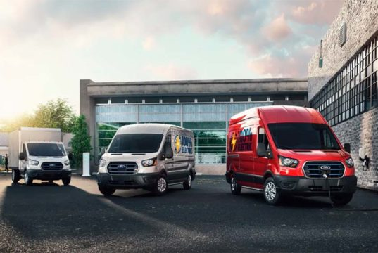 Ford E-Transit, la furgoneta eléctrica de gran tamaño y 350 kilómetros de autonomía