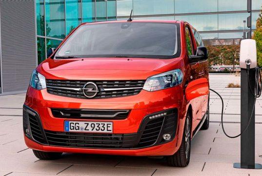 Opel Zafira-e Life, así es la nueva furgoneta eléctrica de Opel