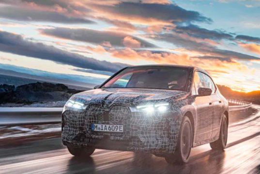 El BMW iX está en Polo Ártico para iniciar las pruebas de invierno