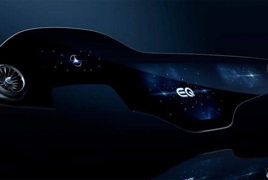 Sistema MBUX Hyperscreen, una gran pantalla de 1,5 metros de largo para el Mercedes-Benz EQS