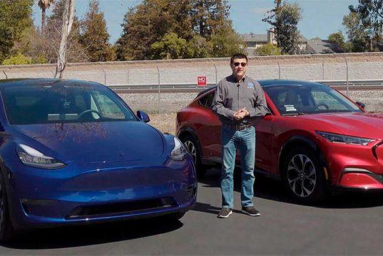 ¿Es el Ford Mustang Mach-E mejor que el Tesla Model Y? En autonomía parece que sí