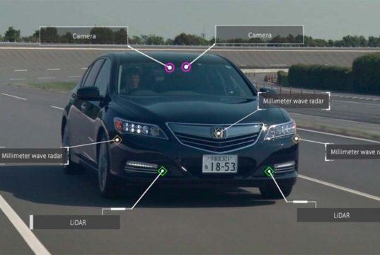 Honda, el primer fabricante en comercializar un coche con conducción autónoma de nivel 3